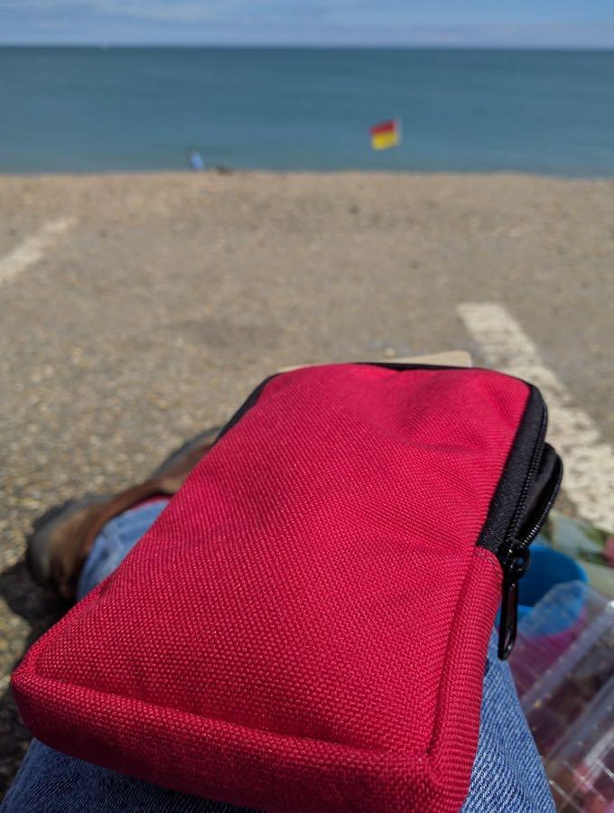 Lifeguard flag Nock Co Sinclair