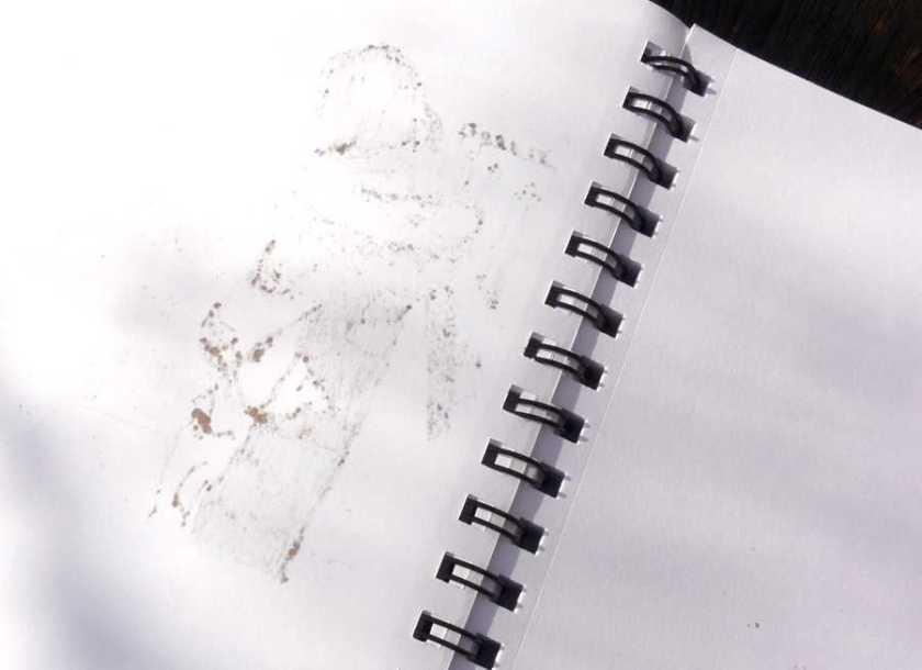 Denik Sketchbook alcohol marker back