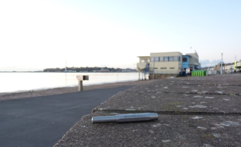 Kaweco Steel Sport by the seaside