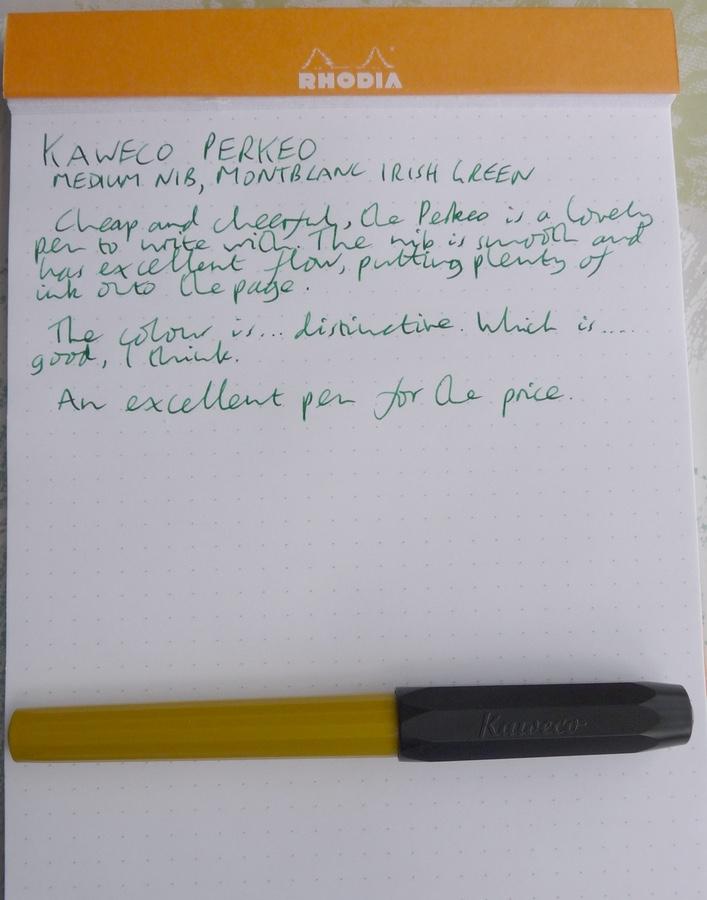 Kaweco Perkeo handwritten review