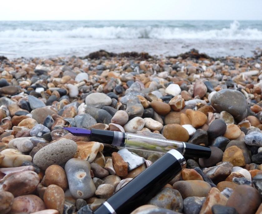 Divine Design Eyedropper on the beach