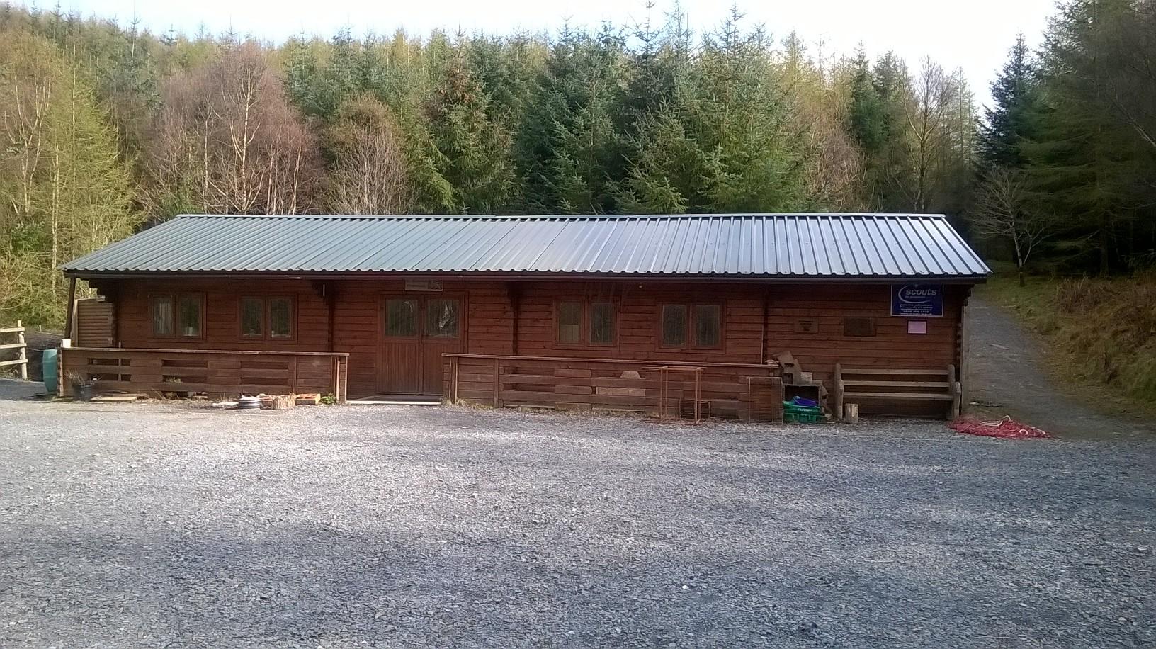 our Log Cabin at Cwm Newyddion