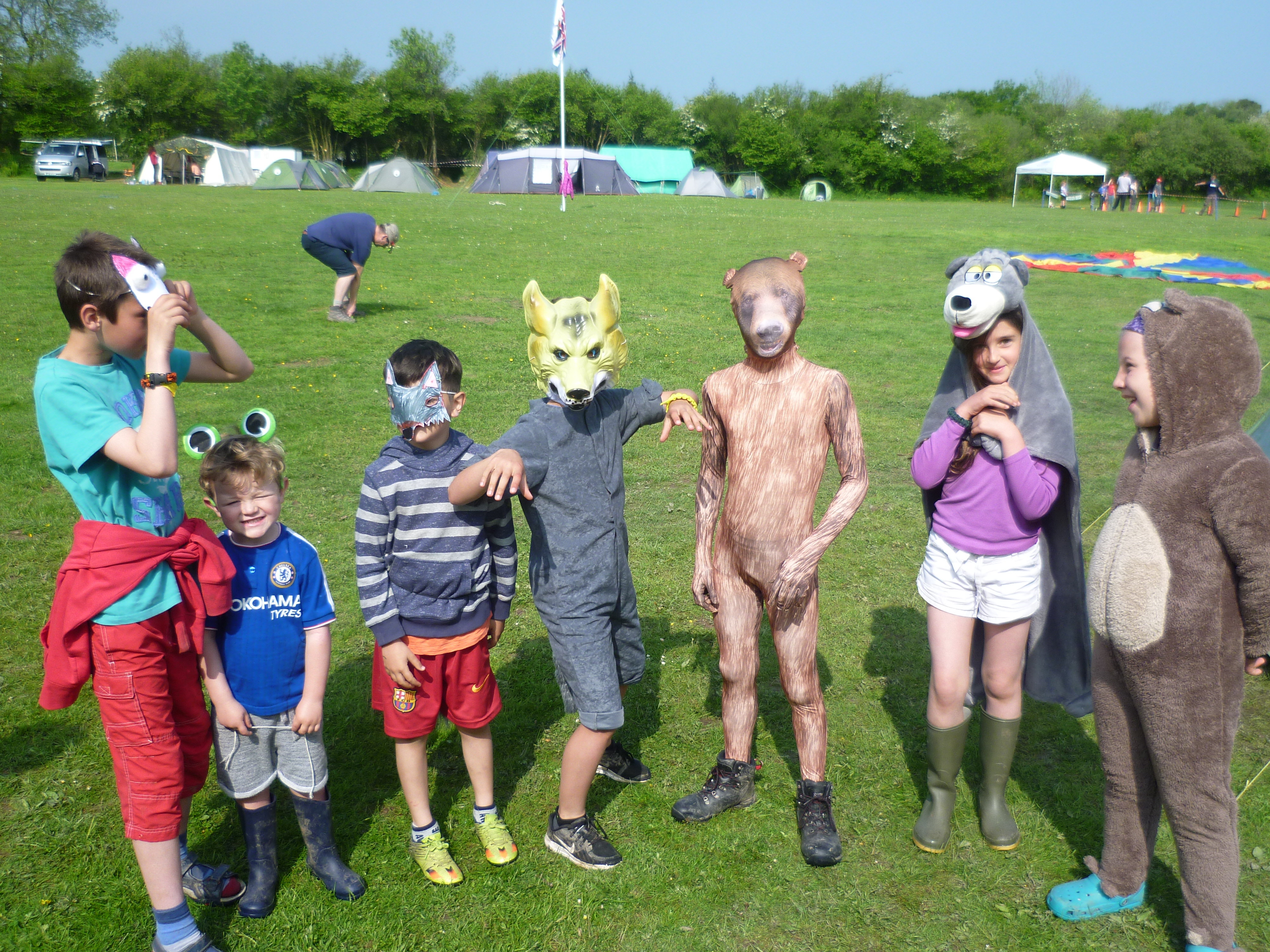 dressing up contest - cubs