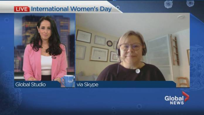 Click to play video 'How COVID-19 disproportionally affects women'