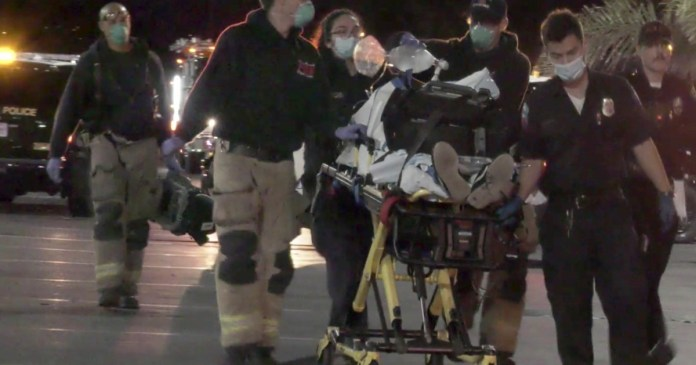 Man hospitalized after police shooting erupts near UC Riverside