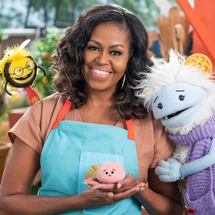 Michelle Obama Talks Waffles + Mochi Mission and More
