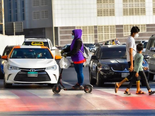 Sharjah Police seize 462 scooters, motorbikes and bicycles for not following safety norms
