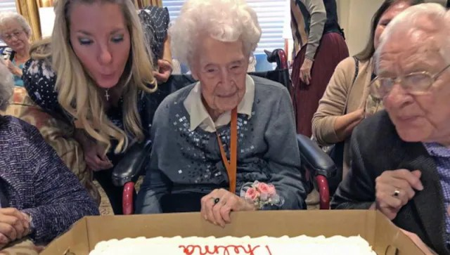 'Determined as ever': 114-year-old Nebraska woman becomes oldest living American