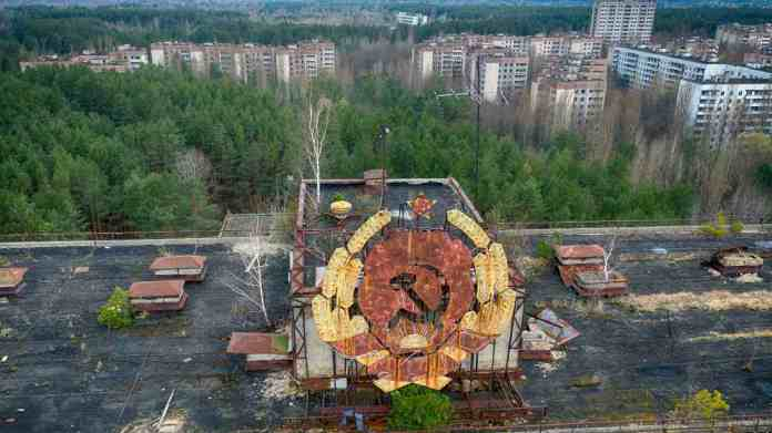 In 2011, Chernobyl was declared a tourist attraction, and visitors are allowed to visit the site. The Chernobyl zone saw an increase in tourism after the release of a mini-series in 2019. The radiation level is low enough for tourists to visit safely and workers to carry on with their jobs of disposing of waste and tending to the sarcophagus. Permanent residence in the area, however, is still banned. Image credit: AP Photo/Efrem Lukatsky