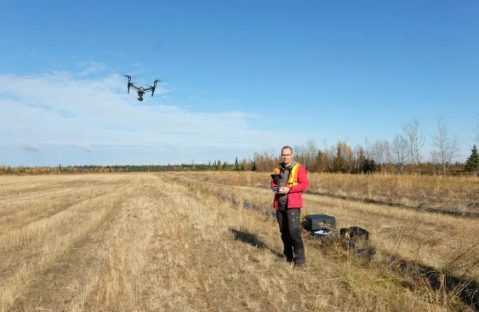 A bird's-eye view on Labrador climate change, as drones inform on ice