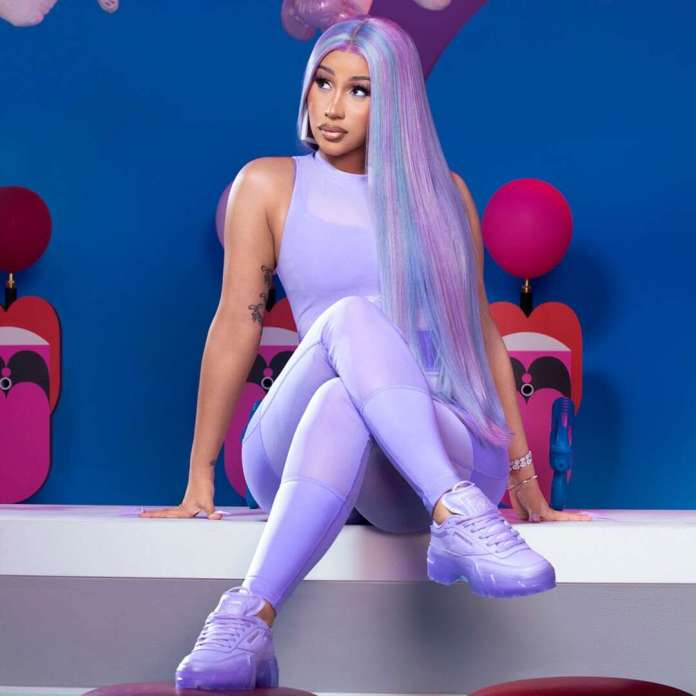 Cardi B Launches Her First Apparel Collaboration With Reebok