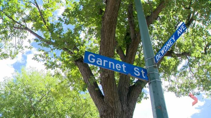 Click to play video: 'Local group pressuring City of Regina to rename Dewdney Avenue, park'