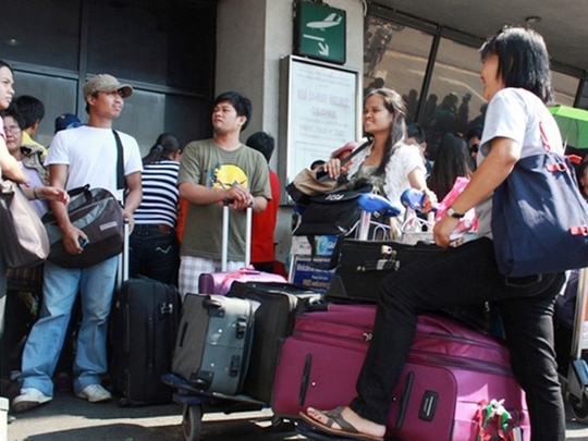 OFWs airport