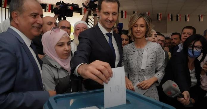 Bashar Assad cements rule over war-torn Syria in election dismissed by U.S. as