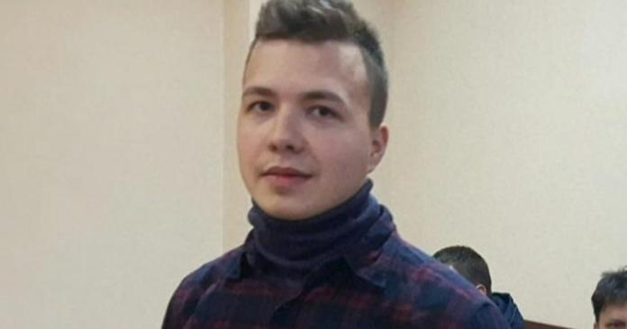 Supporters of Belarus activist taken from diverted plane fear he'll be tortured in jail