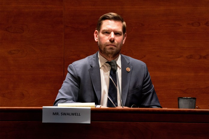 Rep. Eric Swalwell (D-Calif.) sued Brooks alleging that he broke Washington, DC laws that included anti-terrorism acts.