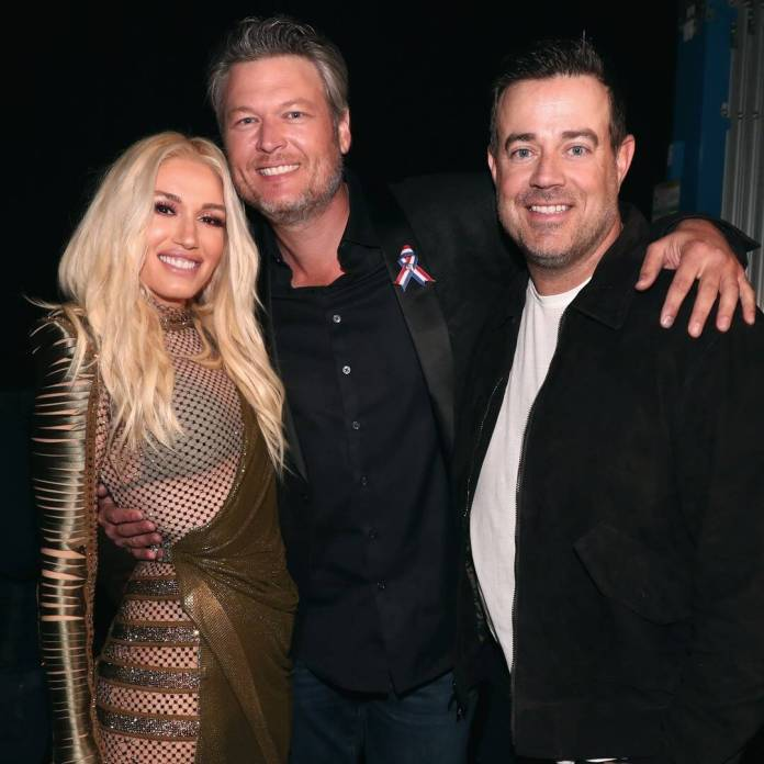 The Important Role Carson Daly Played in Gwen & Blake's Wedding