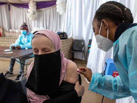 South africa vaccine covid