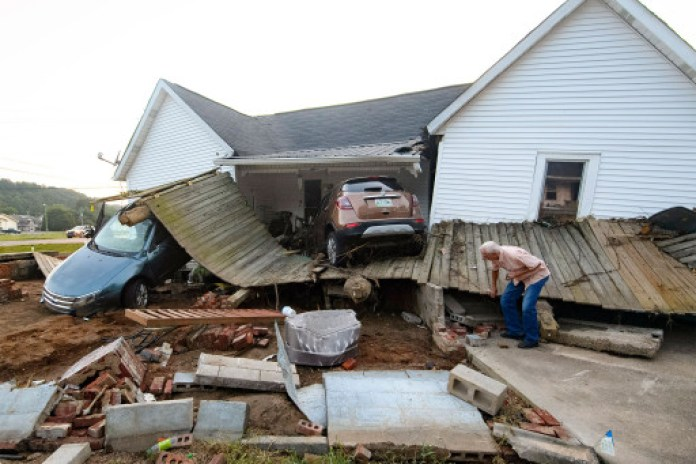 More than 270 homes have been reported to be destroyed.