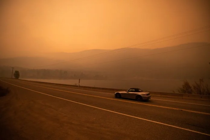 B.C. wildfire conditions trending in the right direction, official says