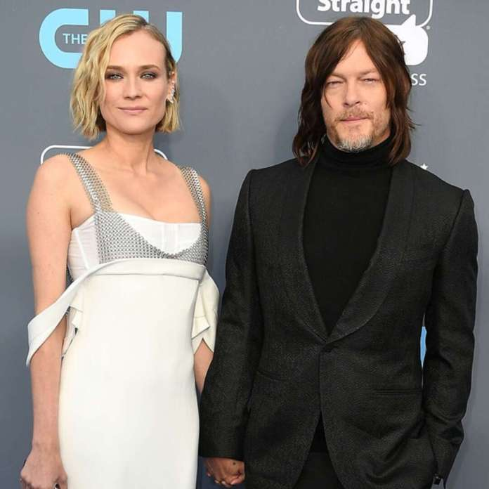 Diane Kruger and Norman Reedus Are Engaged