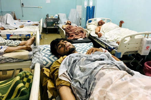At least 60 Afghans and 13 US troops were killed while dozens were injured in Thursday's explosion near Kabul's airport.
