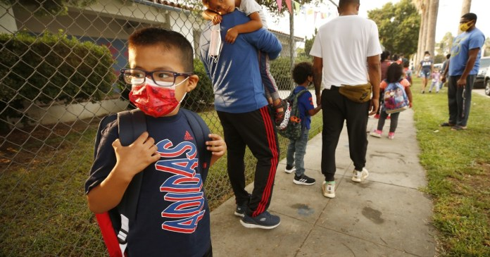 L.A. Unified reports first coronavirus outbreak in the district at Grant Elementary