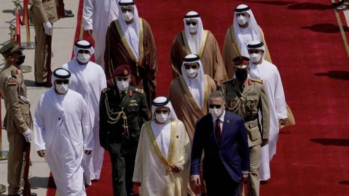 Photos: Sheikh Mohammed arrives in Iraq for regional summit - News