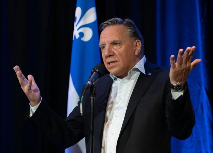 Liberals bristle at Legault's suggestion he would prefer a Conservative minority government