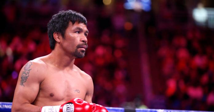 Manny Pacquiao says he's running for president in the Philippines