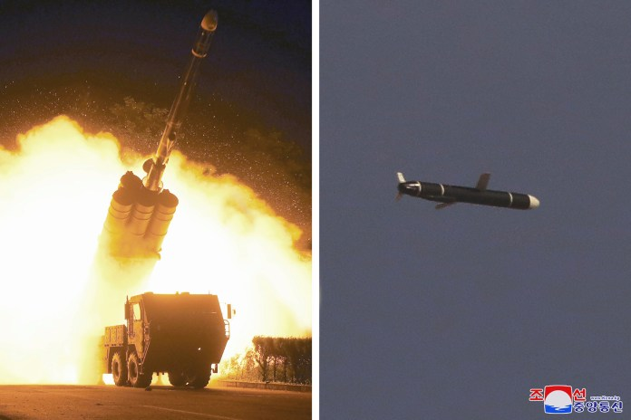 North Korea successfully fired test long-range cruise missiles