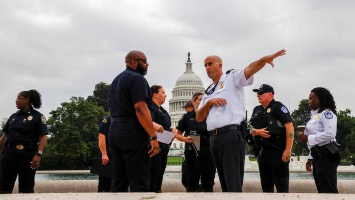 US Capitol on high alert as pro-Trump demonstrators converge for rally - News