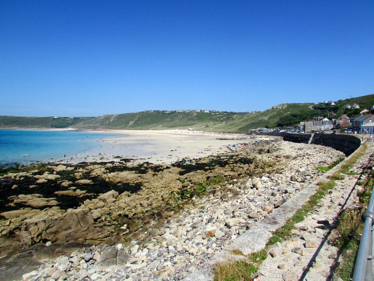 Sennen Cove is a great spot for surfing