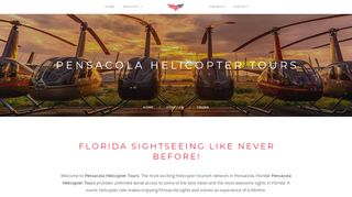 Pensacola Helicopter Charter