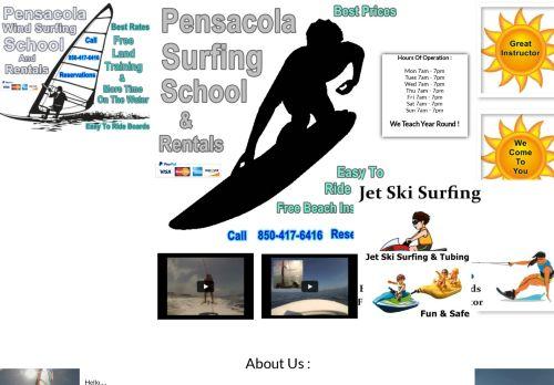 Pensacola Surfing School