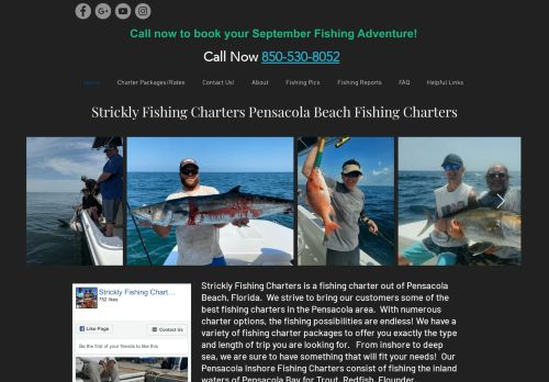 Strickly Fishing Charters
