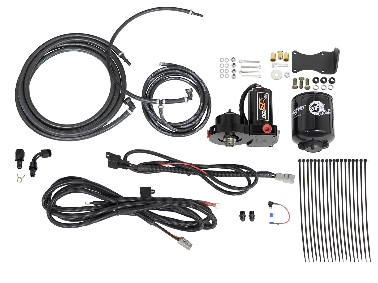 08 10 6 4l Ford Powerstroke Afe Dfs780 Pro Fuel System
