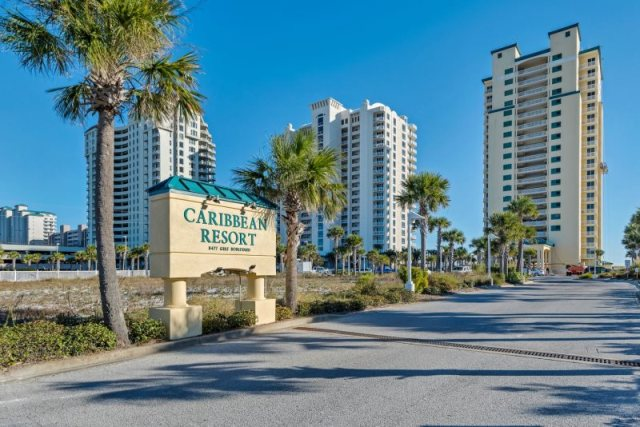 Caribbean Resort on the beach