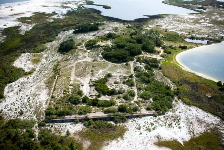 Fort McRee battery