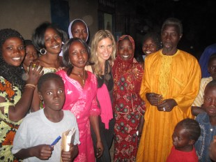 Con las familias de Kayar, Senegal