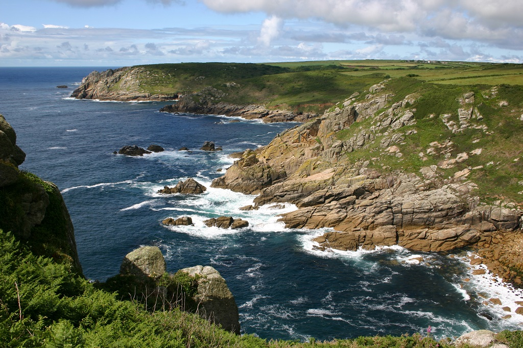 Along the South West Coast Path (Cornwall, England)