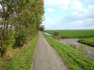 Onderweg naar Woubrugge
