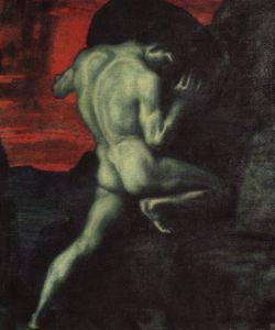 Sisyphe, par Franz von Stuck