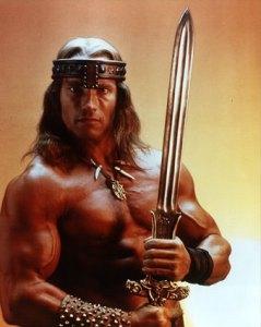 Conan, le barbare bodybuildé