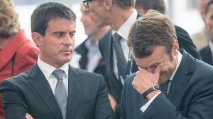 Valls et Macron