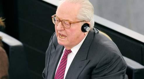 JM Le Pen a de nouveau dérapé, mercredi au Parlement européen.