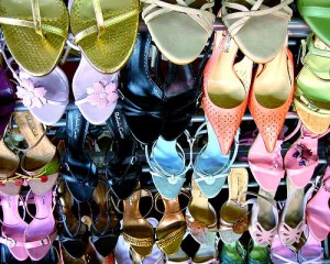 Collection de chaussures d'Imelda Marcos