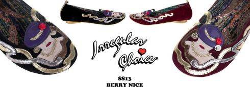 Ballerines Berry Nice par Irregular Choice