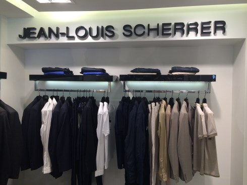 Inauguration de la boutique Jean-Louis Scherrer