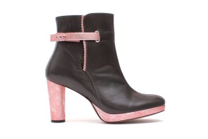 Bottines Imperturbable Grey, par Abigail